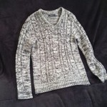 ジギーズショップでバカ売れのニットセーター買った!写真付き