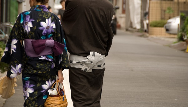 歩いた花火大会