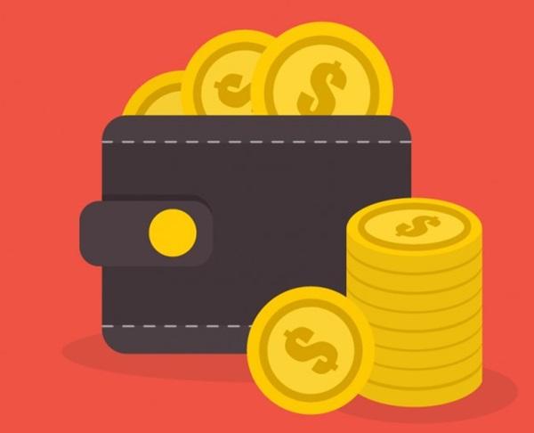 日本の革財布