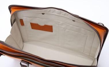 青木鞄内装