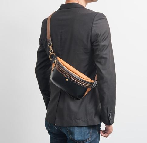 【池之端銀革店】Cramp ポケットバッグ